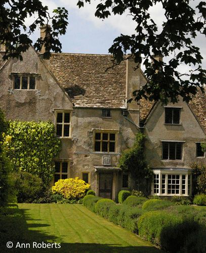 Avebury Manor, Wiltshire, England, a beautiful 16th century manor house, open to the public. The rooms are set out as they would have been in various times in history