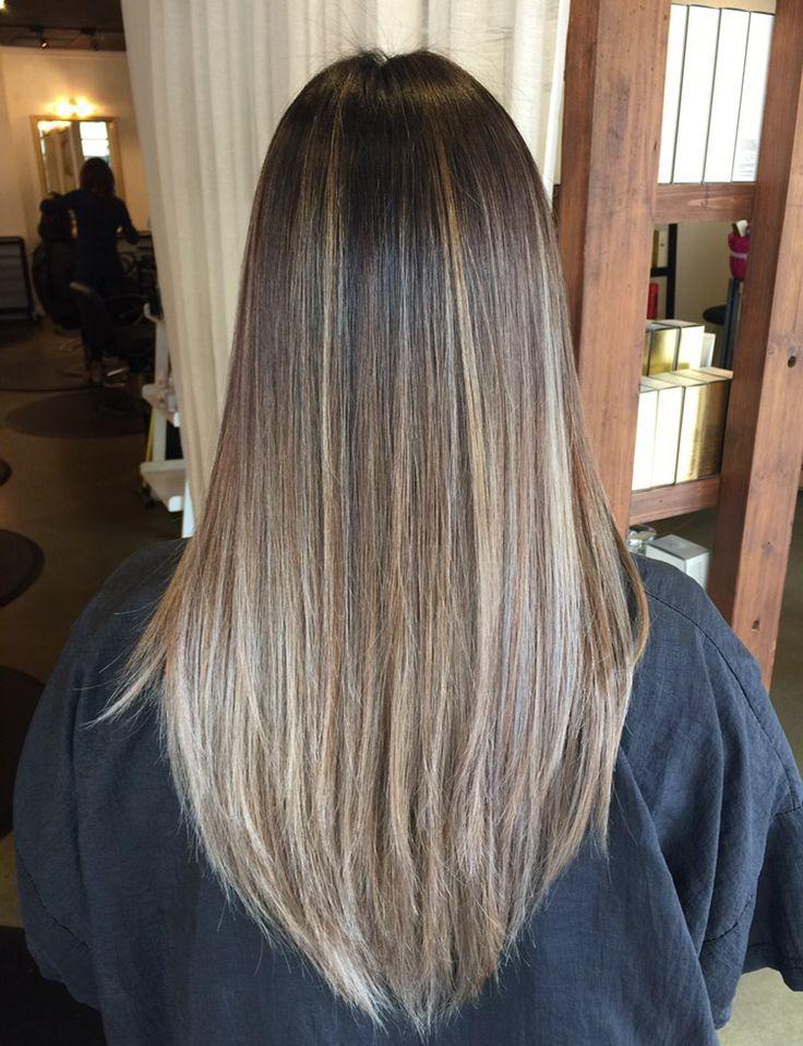 Brown Hair Light Brown Streaks