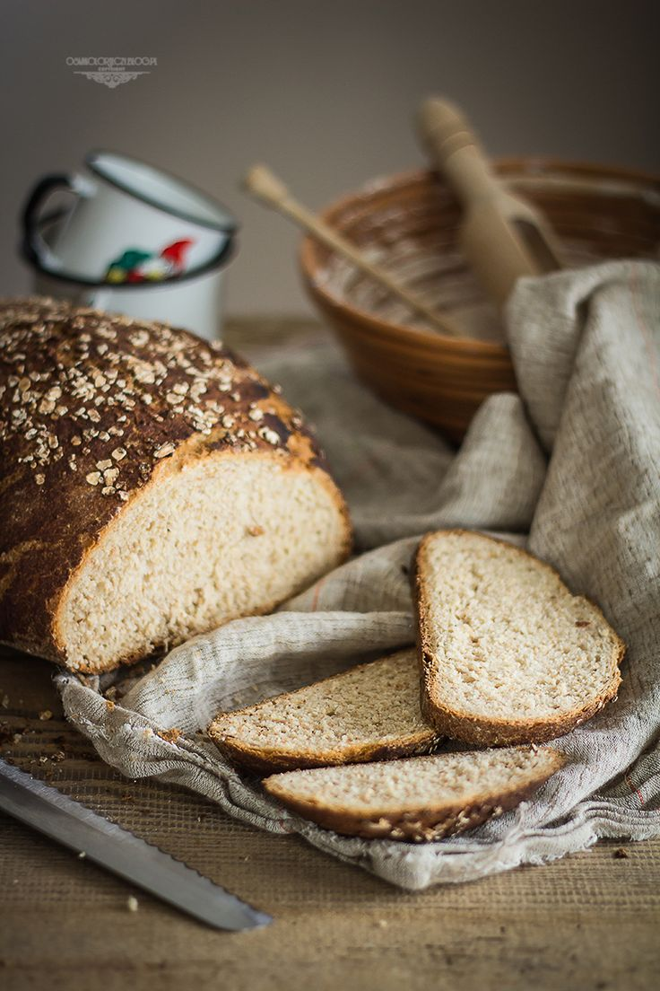 Oat and honey bread