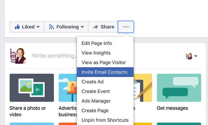 Guess what re-appeared on my Facebook page??  This is one of the top page growth strategies that I used to advocate until about 3 months ago when it suddenly disappeared. Happy Monday to us!