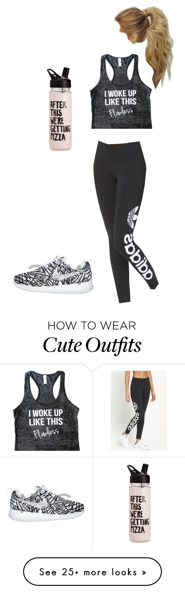 """""""Work out outfit"""" by jimenezcy on Polyvore featuring adidas Originals"""