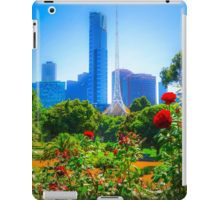 Red Roses in the Botanical Gardens - Melbourne, Victoria iPad Case/Skin