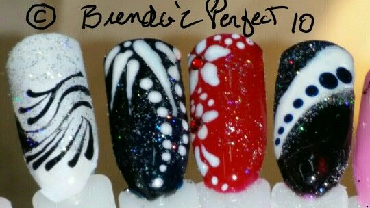 New Freehand Nail Art