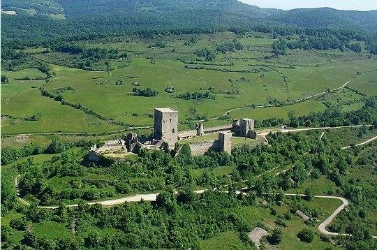 le château de Puivert, Aude