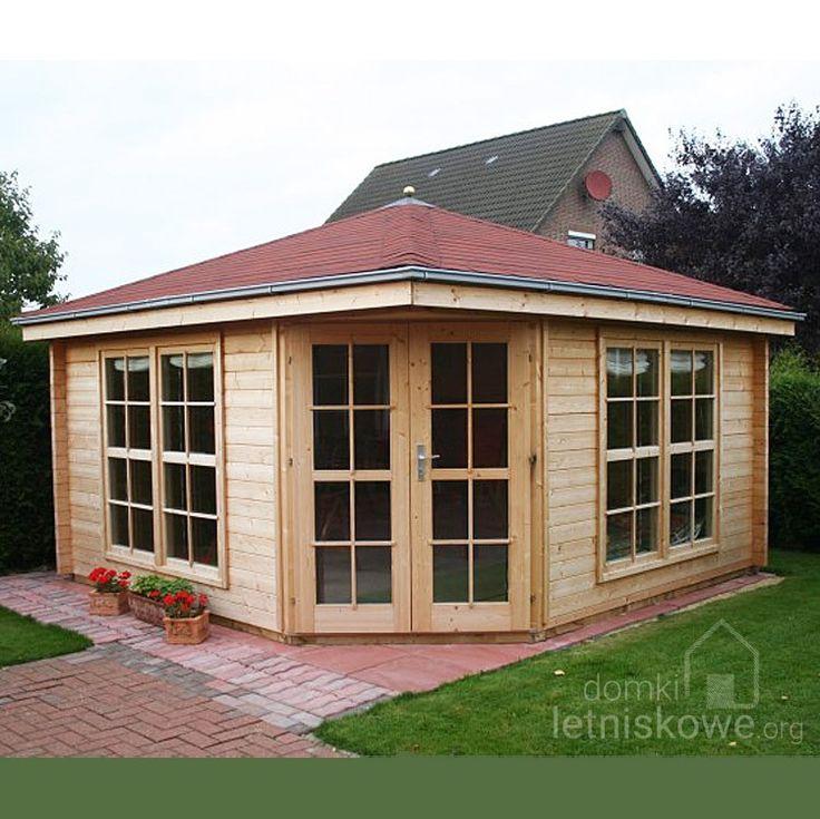 Drewniany domek pięciokątny (Garden pavilion) Victoria C 13,9 m2