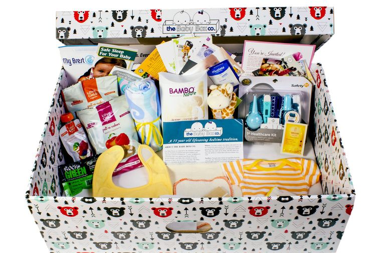The Baby Box Co - great gift idea! Finnish Style baby boxes.