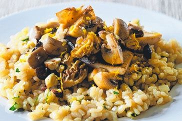 Wild Mushroom Risotto by Matt Preston - Member recipe - Taste.com.au