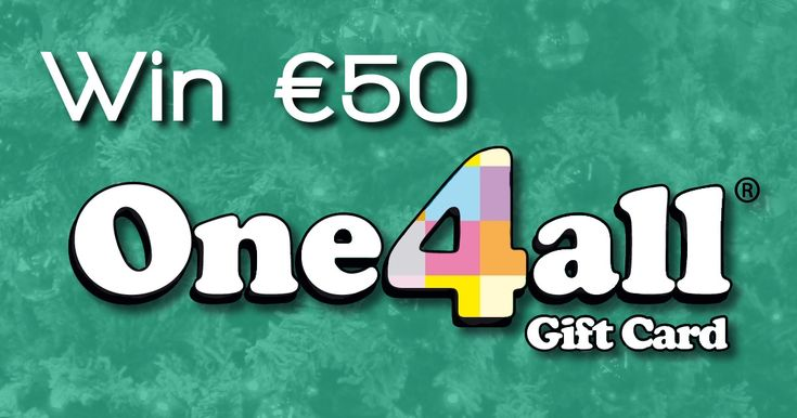 €50 One4all gift card - http://www.competitions.ie/competition/e50-one4all-gift-card/