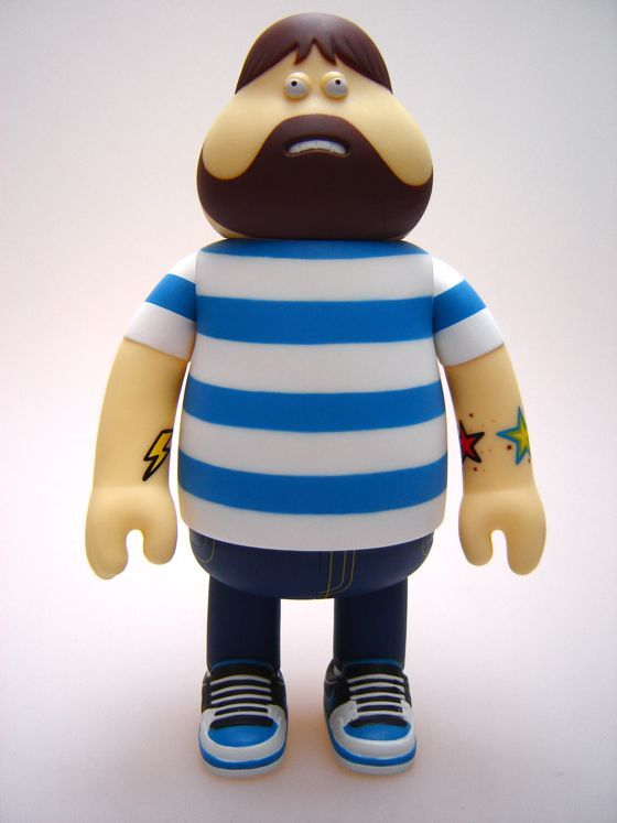 Leon figure for Stussy & Nike by James Jarvis