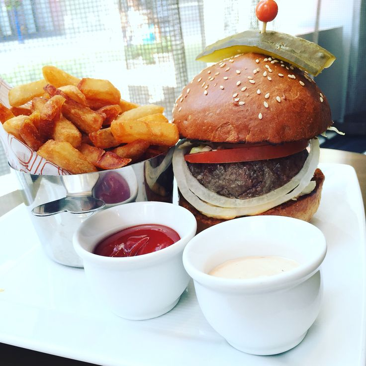 One of the best burgers served in a fabulous space. The fries were brilliant at DBar
