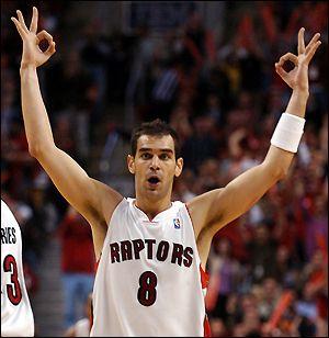 Jose Manuel Calderon renueva con los Toronto Raptors