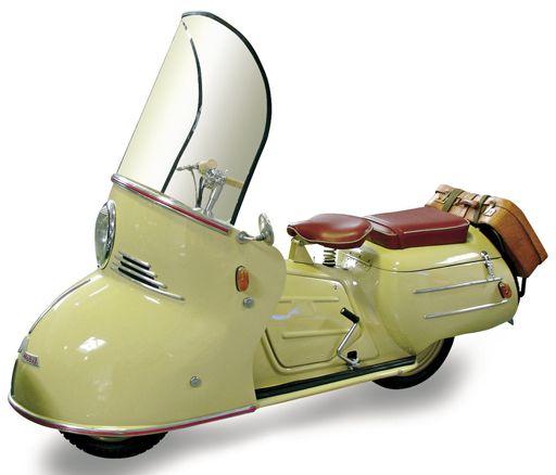 Equipé d'un moteur de 150 cm3 puis 200 cm3, la Maico Mobil pouvait même être équipée en option d'une radio.
