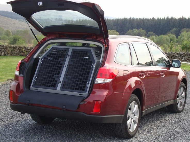 Dog Box For A Subaru Outback Super Duper Drool Cars