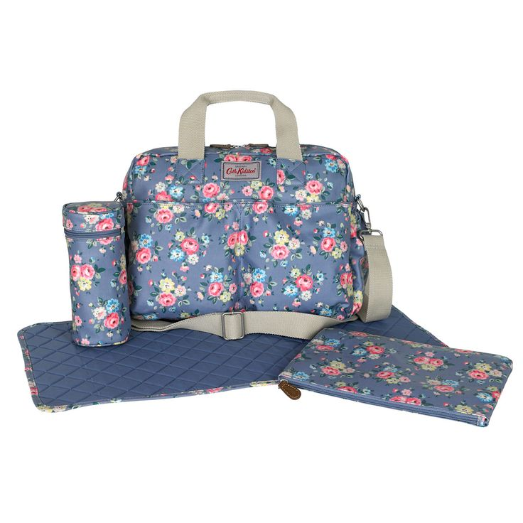 Latimer Rose Double Pocket Nappy Bag  | Cath Kidston |