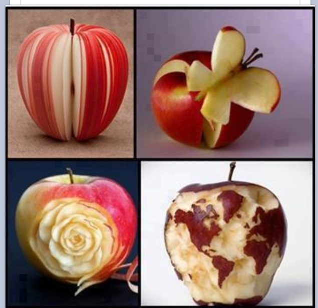 Best fruit designs and carvings images on pinterest