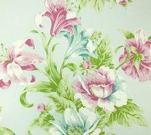Behang Royal Dutch 5 Vlies bloem roze/turquoise 7331-5 28,01 bij xlwinkels.nl