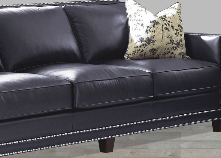 Navy Blue Leather Sofa And Loveseat - http://infolitico.com/navy-blue-leather-sofa-and-loveseat/ For Inspiration Idea LivingRoom Design