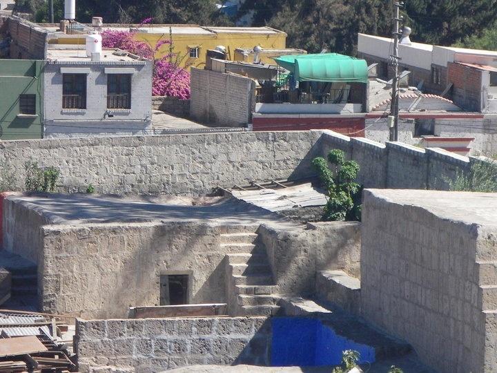 Roof tops of Arequipa, Peru