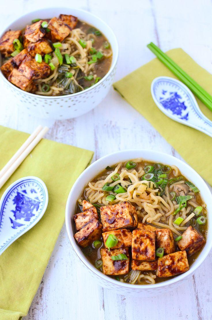 Blue apron ramen - Vegan Ramen Soup