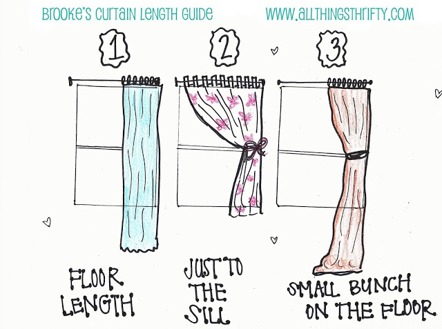 best 10+ curtain length ideas on pinterest | tall curtains, window