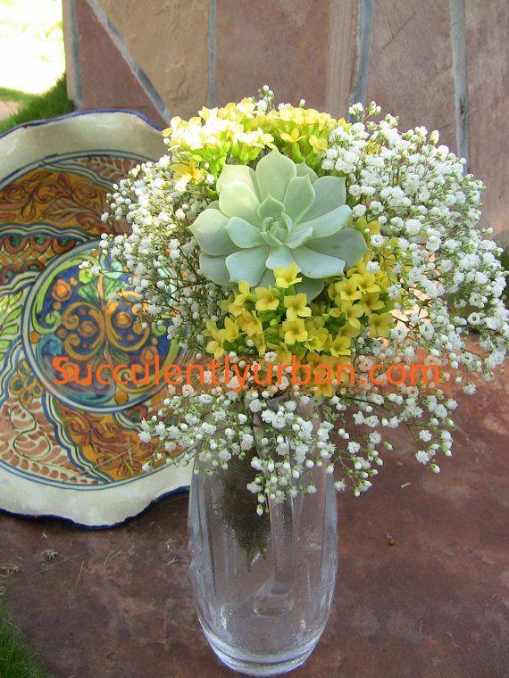 Diy Wedding Flowers Succulents : Best images about wedding boquets on paper