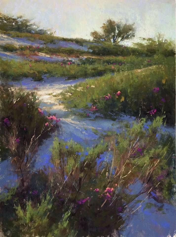 What A Beautiful Painting Oil Pastel Landscape Pastel Landscape Landscape Paintings