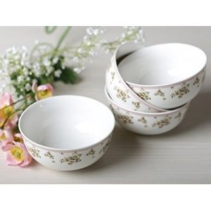 Katie Alice Cottage Flower fine china set van 4 kommen CB2466