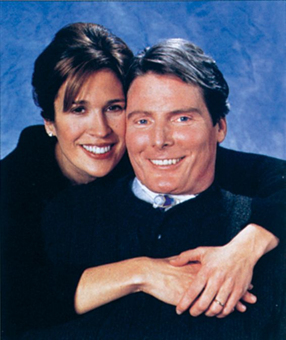 Christopher Reeves , Dana Reeve (née Morosini) (March 17, 1961 – March 6, 2006) was an American actress, singer, and activist for disability causes. Description from imgarcade.com. I searched for this on bing.com/images