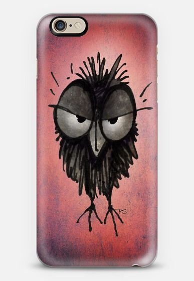 Funny Grumpy Owl iPhone6 case from Casetify - $10 OFF using code: KNWEJS