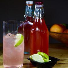 Rekha's Garden And Kitchen: Rhubarb & Ginger Gin