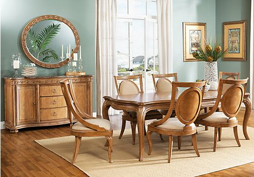 shop for a cindy crawford home beechwood hills 7 pc dining