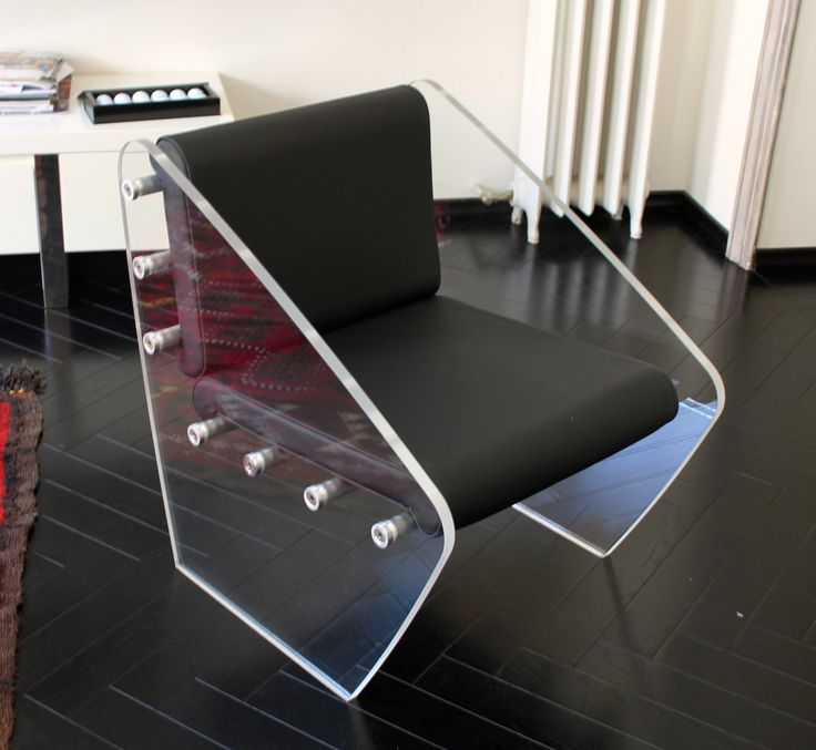 Captivating Terry   Chair The Chair Was Made With 20mm High Transparent Plexiglas Slabs  And Aluminium Turned