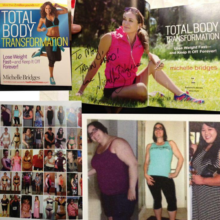 I'm in @Michelle Bridges latest book #totalbodytransformation !