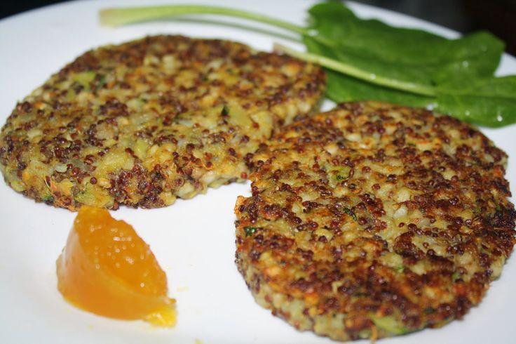 Mis consejos y recetas saludables: Hamburguesas de Quinoa y Trigo Sarraceno