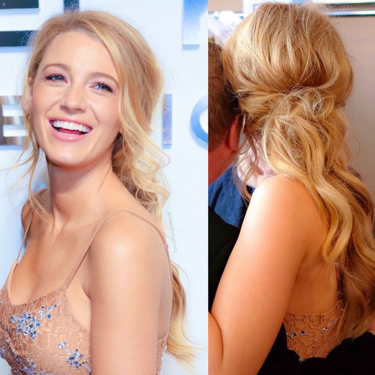 Blake Lively hair - new formal go-to style