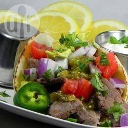 Tacos de carne asada @ allrecipes.com.mx