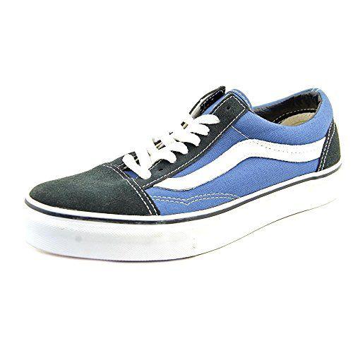 Vans Old Skool (Navy) Men's Skate Shoes ** Read review @ http://www.lizloveshoes.com/store/2016/06/04/vans-old-skool-navy-mens-skate-shoes/?bc=250616163700