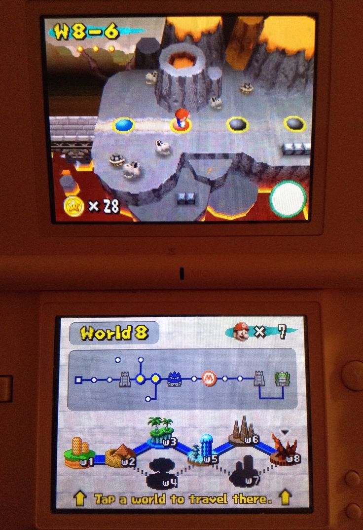 World 8! Mwahaha (`ω´ )ノ (Game: New Super Mario Bros for NDS) || Erin B. {エリン}