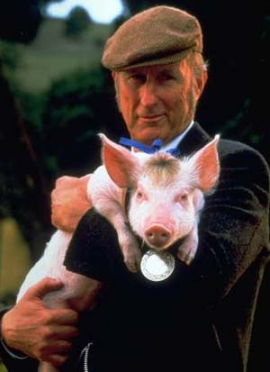 """Babe - the Citizen Kane of talking pig movies, only its better than citizen kane. No really, this """"kids"""" movie was nominated for 7 academy awards including best picture, director, screenplay, and supporting actor."""