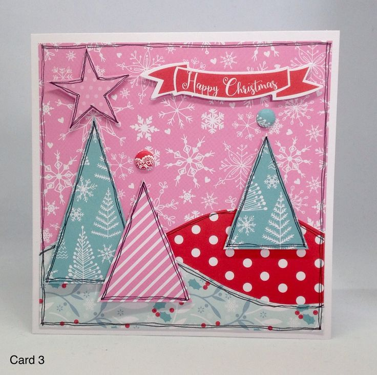 Card created using Julie Loves...All Wrapped Up collection, made by Julie Hickey www.craftworkcards.com