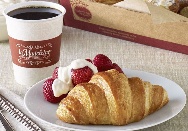 Free Chocolate Or Butter Croissant At La Madeleine Claim Here Https Www Freebies2you Com 2019 01 Free Ch Butter Croissant Chocolate Croissant French Cafe