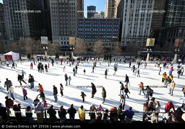 Patinaje sobre hielo, Chicago  Nos encanta el patinaje sobre hielo - La Nevera Pista de Hielo, Majadahonda, Madrid