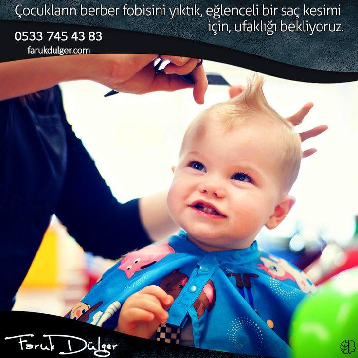 Çocukların berber fobisini yıktık..  Eğlenceli bir saç kesimi Salon Faruk Dülger'de.. Rezervasyon:0533 745 43 83 #fsm #saçkesimi #berber #erkekkuaförü #bursa #çocuk