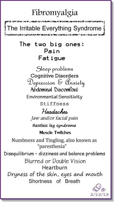 Fibromyalgia -The irritable everything syndrome by coolnana