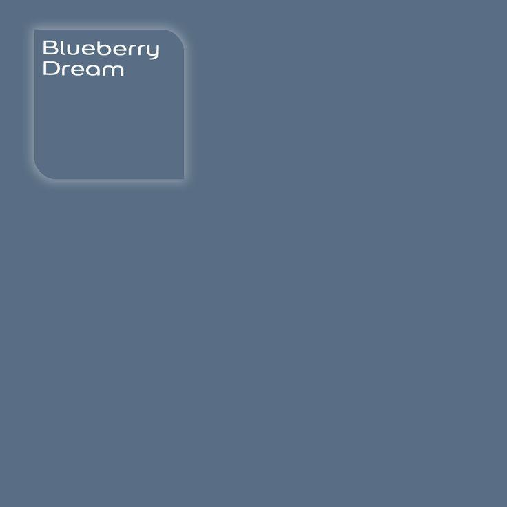 Flexa Creations kleur: Blueberry Dream. Klik op de foto om een Flexa Kleurstaal in deze kleur te bestellen. Vooraf de kleur op de muur in je kamer zien geeft vertrouwen.
