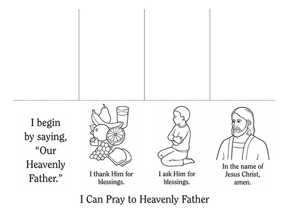 67 best LDS Prayer images on Pinterest Church ideas Lds primary