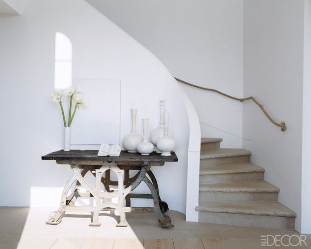 Good Hall Du0027entrée   Entrance Hall   Escalier   Stairs   Blanc   White