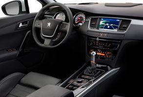 Kupen hos Peugeot 508 SW är rymlig och väldesignad.
