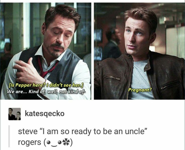 """I wish it was that and not that stupid """"we're taking a break"""" nonsense. DON'T YOU DARE DESTROY PEPPERONY MARVEL"""