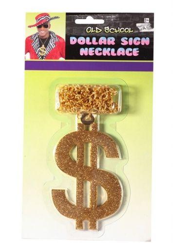 Shimmering Dollar Sign Necklace- a unisex necklace.| Necklace | Jewelery | StringsAndMe